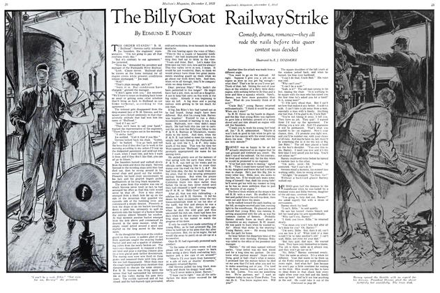 Article Preview: The Billy Goat Railway Strike, December 1st 1931 1931 | Maclean's
