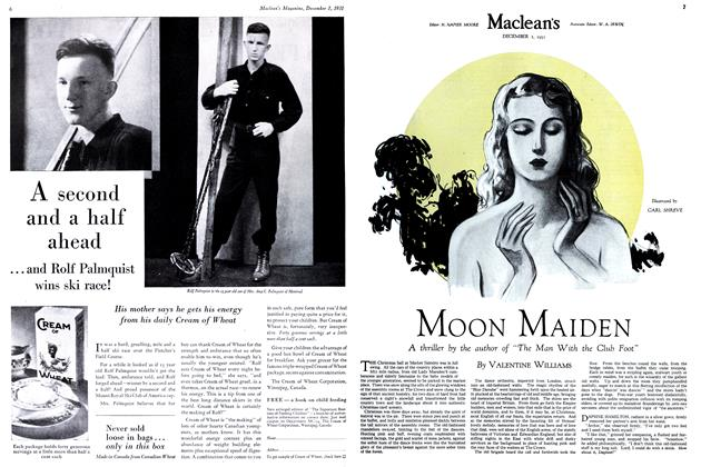 Article Preview: MOON MAIDEN, December 1st 1931 1931 | Maclean's
