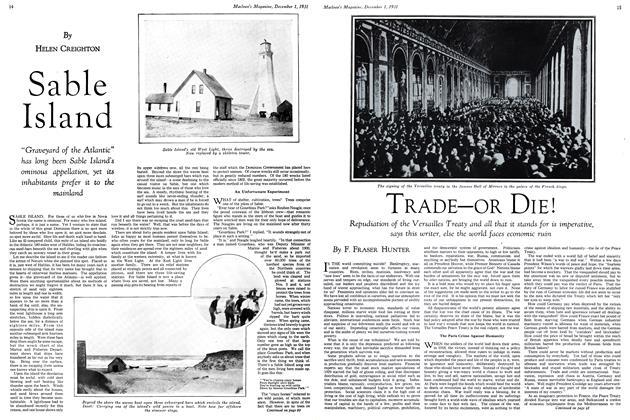 Article Preview: TRADE—OR DIE!, December 1st 1931 1931 | Maclean's