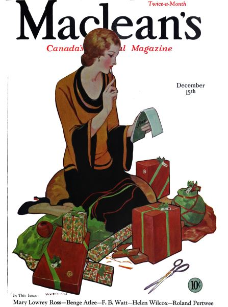 Issue: - December 15th 1931 | Maclean's