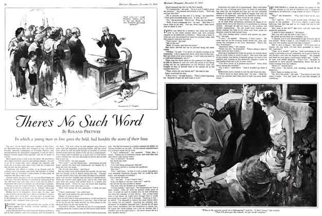 Article Preview: There's No Such Word, December 15th 1931 1931 | Maclean's