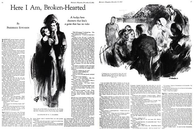 Article Preview: Here I Am, Broken-Hearted, December 15th 1931 1931 | Maclean's