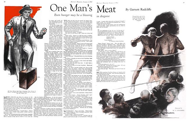 Article Preview: One Man's Meat, January 1932 | Maclean's