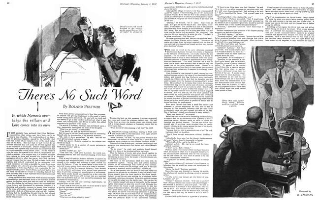Article Preview: There's No Such Word, January 1932 | Maclean's
