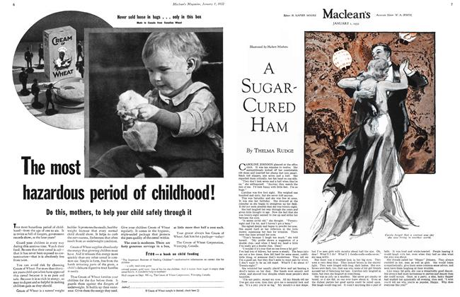 Article Preview: A SUGAR-CURED HAM, January 1932 | Maclean's
