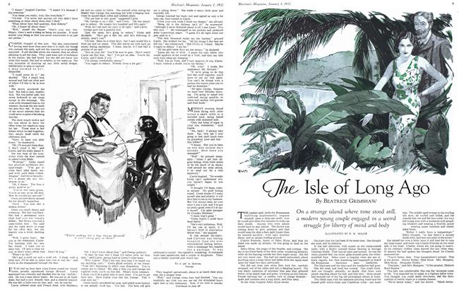 Article Preview: The Isle of Long Ago, January 1932 | Maclean's