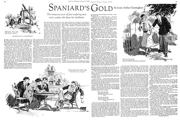 Article Preview: SPANIARD'S GOLD, January 1932 | Maclean's