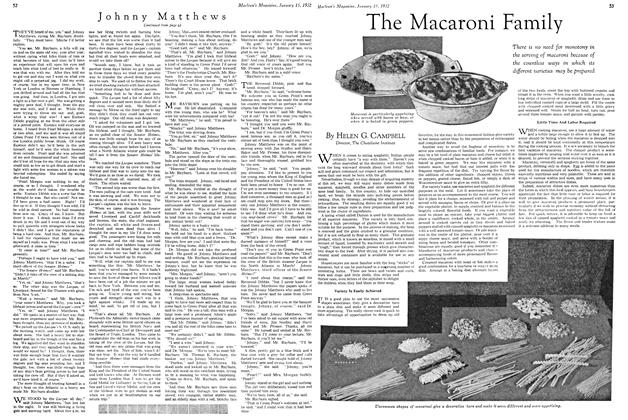 Article Preview: The Macaroni Family, January 1932 | Maclean's