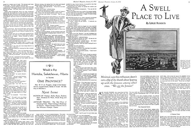 Article Preview: A SWELL PLACE TO LIVE, January 1932 | Maclean's