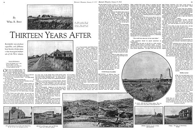 Article Preview: THIRTEEN YEARS AFTER, January 1932 | Maclean's