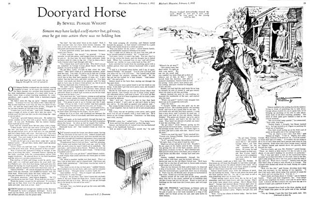 Article Preview: Dooryard Horse, February 1st 1932 1932 | Maclean's