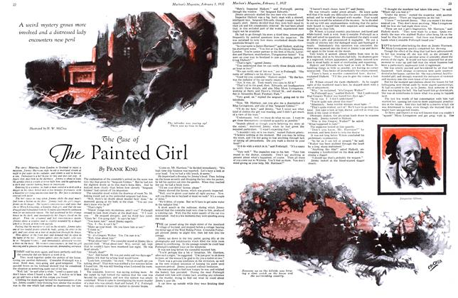 Article Preview: The Case of The Painted Girl, February 1st 1932 1932 | Maclean's
