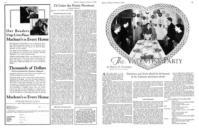 Article Preview: The VALENTINE PARTY, February 1st 1932 1932 | Maclean's