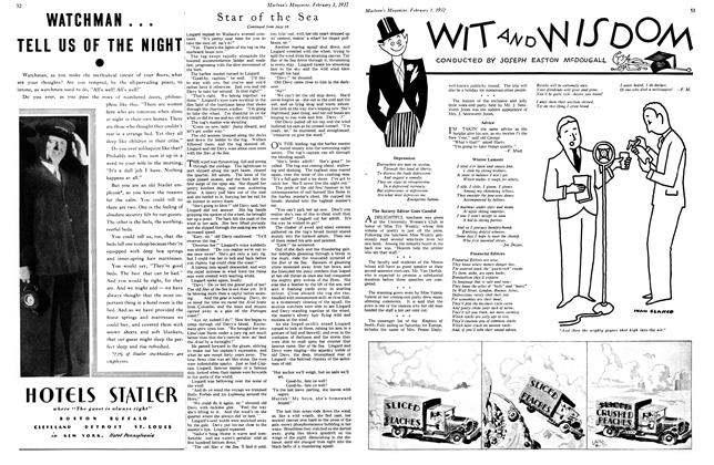 Article Preview: WIT AND WISDOM, February 1st 1932 1932 | Maclean's