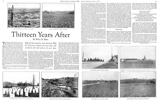 Article Preview: Thirteen Years After, February 1st 1932 1932 | Maclean's