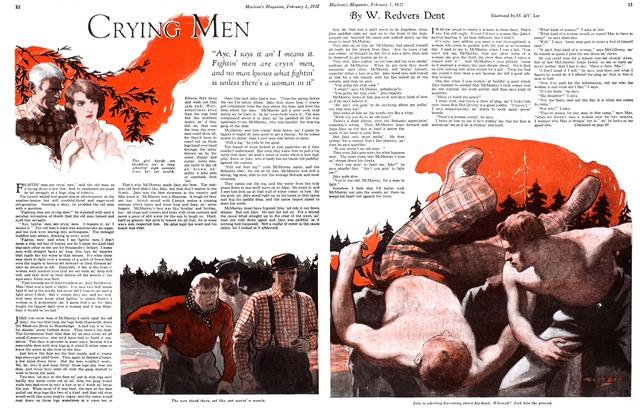 Article Preview: CRYING MEN, February 1st 1932 1932 | Maclean's