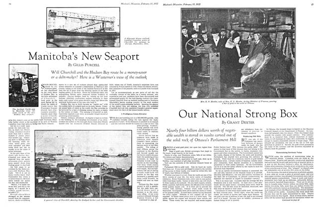 Article Preview: Our National Strong Box, February 15th 1932 1932 | Maclean's