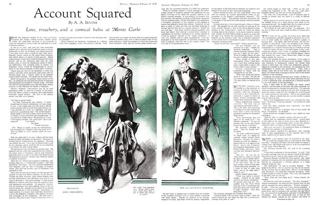 Article Preview: Account Squared, February 15th 1932 1932 | Maclean's