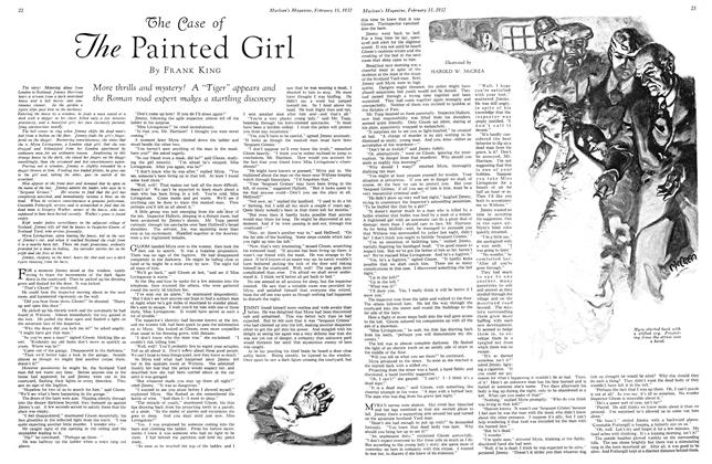 Article Preview: The Case of The Painted Girl, February 15th 1932 1932 | Maclean's