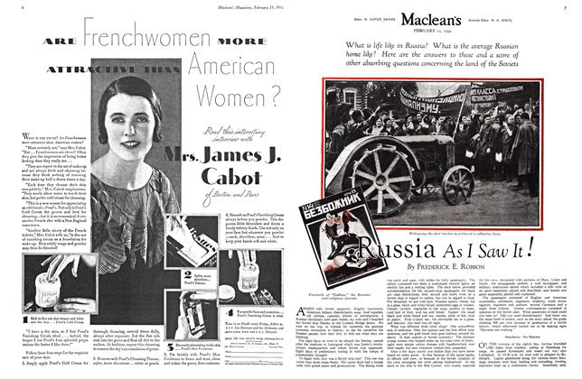 Article Preview: Russia As I Saw It!, February 15th 1932 1932 | Maclean's