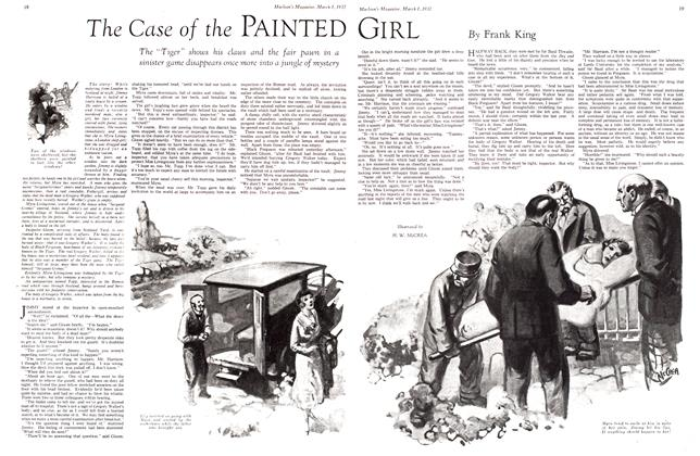 Article Preview: The Case of the PAINTED GIRL, March 1932 | Maclean's