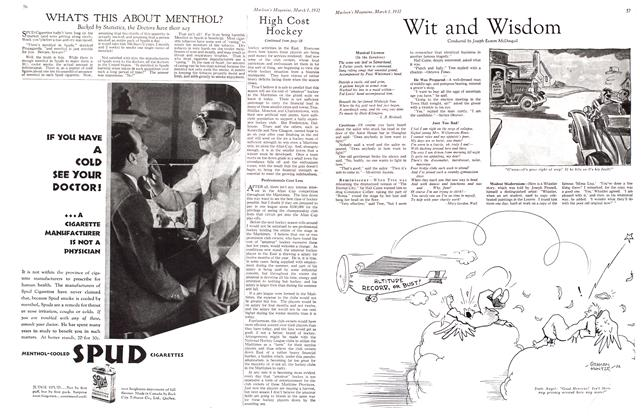 Article Preview: WHAT'S THIS ABOUT MENTHOL?, March 1932 | Maclean's