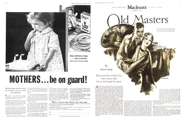 Article Preview: Old Masters, March 1932 | Maclean's