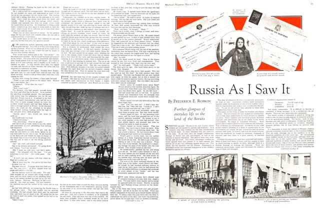 Article Preview: Russia As I Saw It, March 1932 | Maclean's