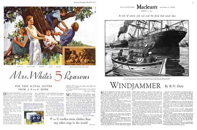 Article Preview: WINDJAMMER, March 1932 | Maclean's