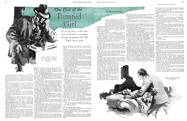 Article Preview: The Case of the Painted Girl, April 1st 1932 1932 | Maclean's