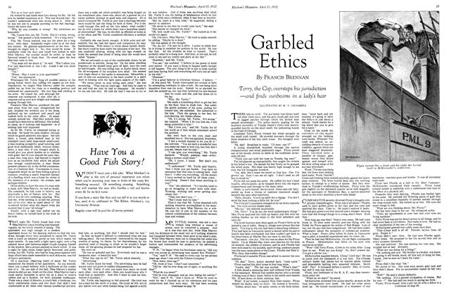 Article Preview: Garbled Ethics, April 1932 | Maclean's