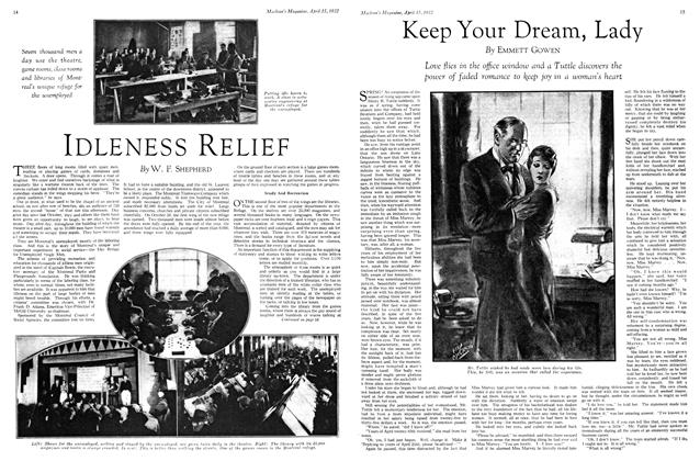 Article Preview: Keep Your Dream, Lady, April 1932 | Maclean's