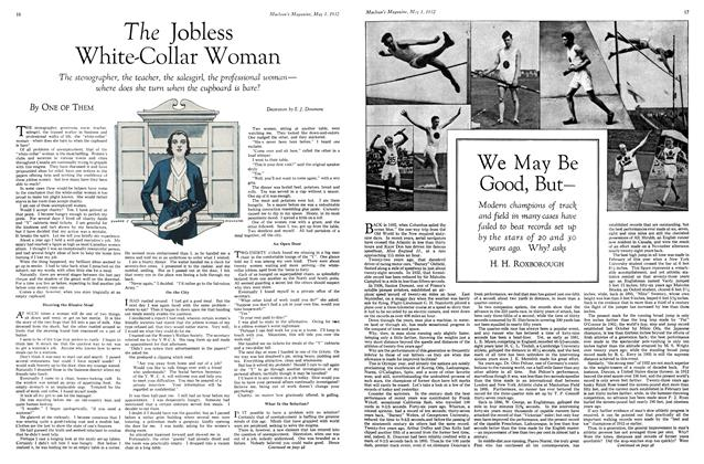 Article Preview: The Jobless White-Collar Woman, May 1st 1932 1932 | Maclean's