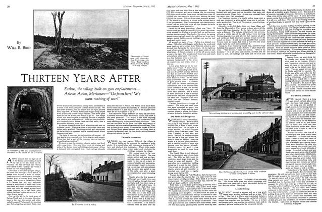 Article Preview: THIRTEEN YEARS AFTER, May 1st 1932 1932 | Maclean's