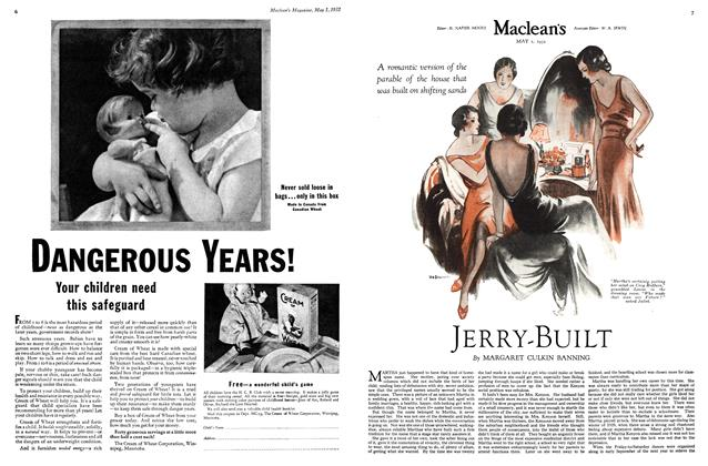 Article Preview: JERRY-BUILT, May 1st 1932 1932 | Maclean's