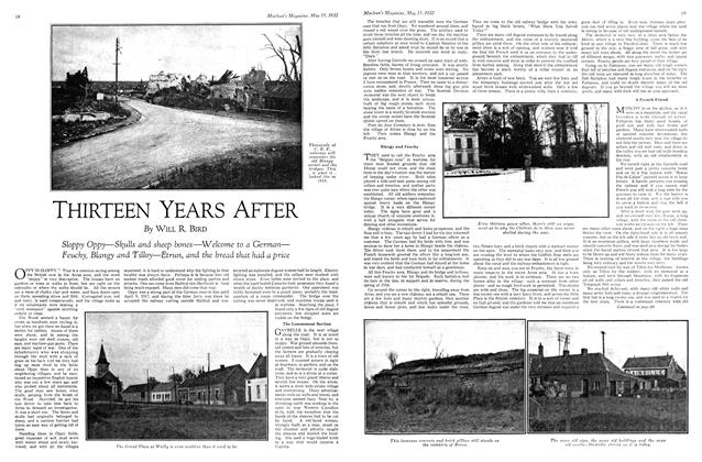 Article Preview: THIRTEEN YEARS AFTER, May 15th 1932 1932   Maclean's