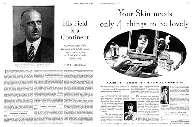 Article Preview: His Field is a Continent, May 15th 1932 1932 | Maclean's