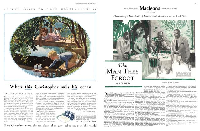 Article Preview: The MAN THEY FORGOT, May 15th 1932 1932 | Maclean's