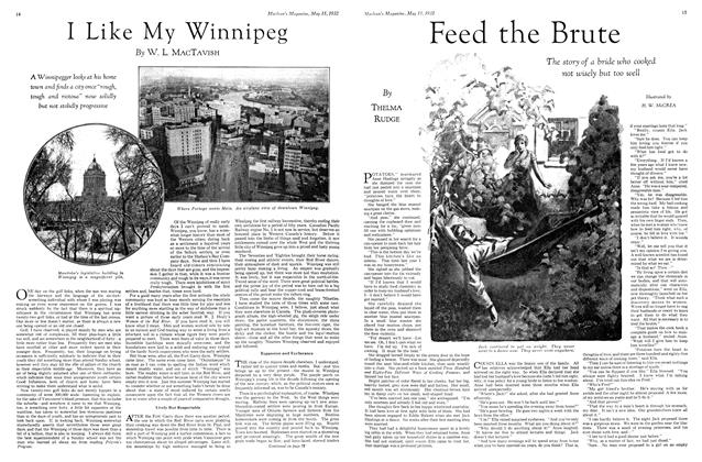 Article Preview: Feed the Brute, May 15th 1932 1932 | Maclean's