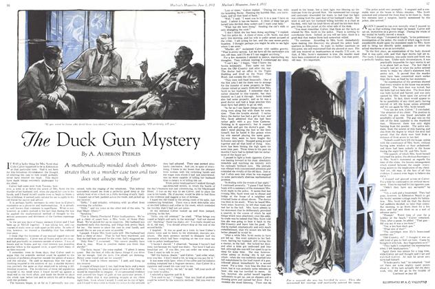 Article Preview: The Duck Gun Mystery, June 1st 1932 1932 | Maclean's