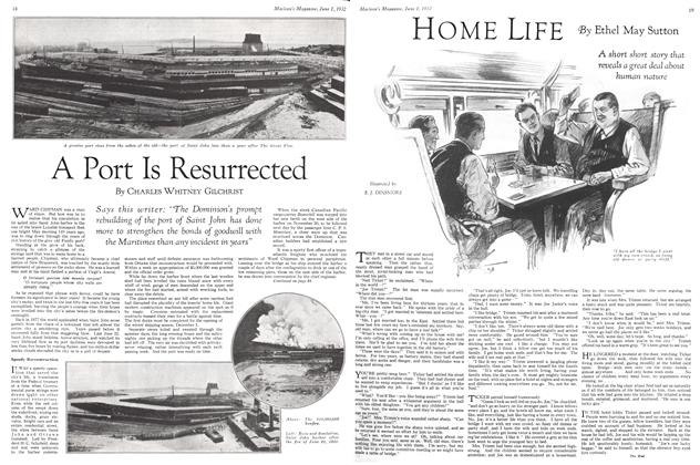 Article Preview: A Port Is Resurrected, June 1st 1932 1932 | Maclean's