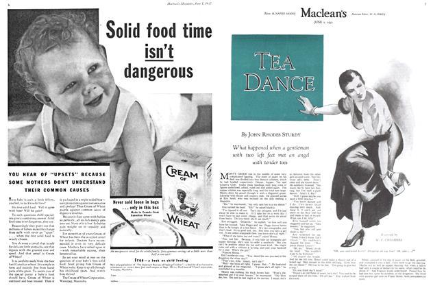 Article Preview: TEA DANCE, June 1st 1932 1932 | Maclean's