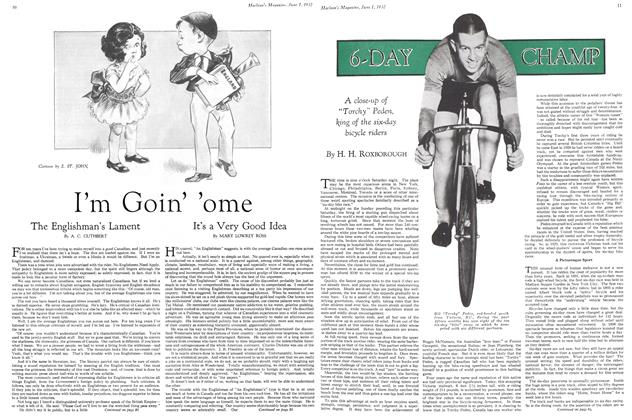 Article Preview: 6-DAY CHAMP, June 1st 1932 1932 | Maclean's