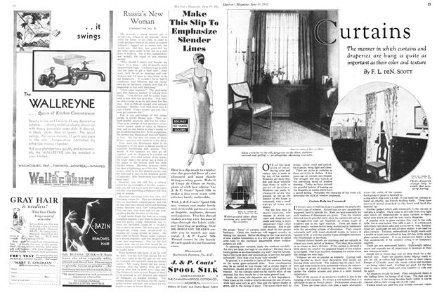 Article Preview: Curtains, June 15th 1932 1932 | Maclean's