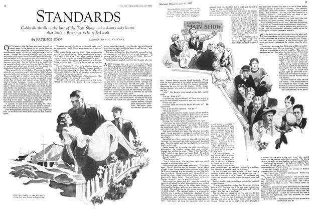 Article Preview: STANDARDS, June 15th 1932 1932 | Maclean's