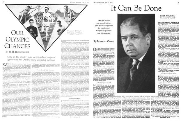 Article Preview: It Can Be Done, June 15th 1932 1932 | Maclean's