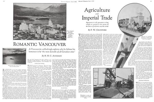 Article Preview: Agriculture and Imperial Trade, July 1st 1932 1932 | Maclean's