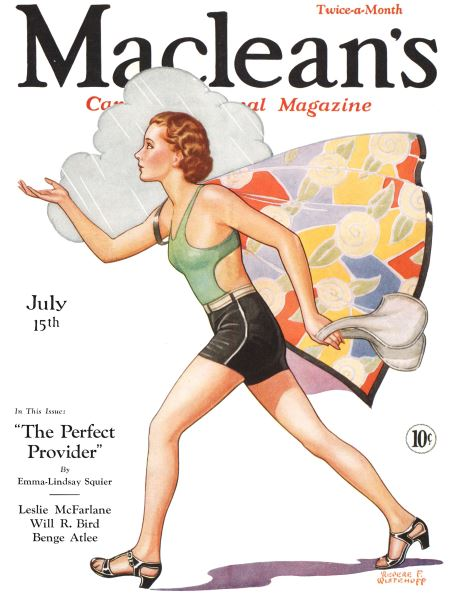 Issue: - July 15th 1932   Maclean's