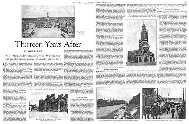 Article Preview: Thirteen Years After, July 15th 1932 1932 | Maclean's