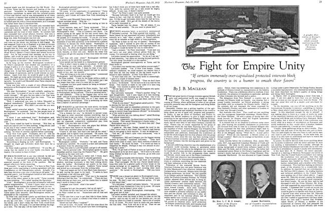 Article Preview: The Fight for Empire Unity, July 15th 1932 1932 | Maclean's